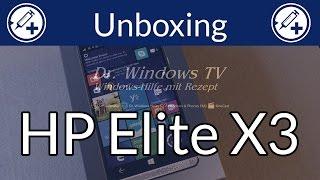 HP Elite X3 - Unboxing und erste Eindrücke