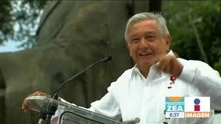 AMLO Conmemora Natalicio De Benito Juárez En Guelatao, Oaxaca | Noticias Con Francisco Zea