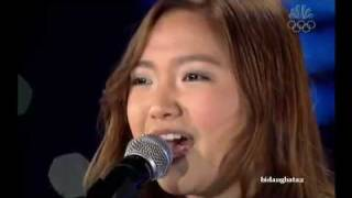 Charice-Breathe Out- Skate For The Heart (HQ)+Lyrics