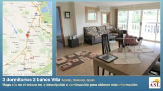 preview picture of video '3 dormitorios 2 baños Villa se Vende en Alberic, Valencia, Spain'