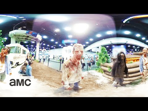The Walking Dead 360 Experience: Comic Con 2016