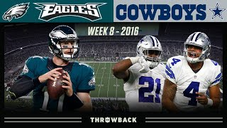 Rookie Stars Shine on SNF! (Eagles vs. Cowboys 2016, Week 8)
