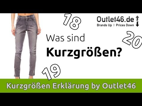 Was sind Kurzgrößen? Jeans Mode in Kurzgröße | Jeans für kleine Frauen | Outlet46 | Tipps & Tricks