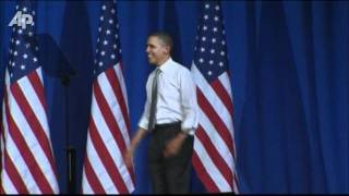Gambar cover Raw Video: Crowd Sings Happy Birthday to Obama