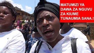 Wanawake waandamana.! Wanaume wamezidi kutumia dawa za nguvu za kiume, wanatuumiza..!