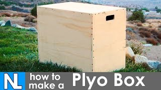 Making A Plyo Box / DIY 3-in-1 Plyometric Box