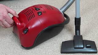 Bosch Ergo Max Professional Toy Vacuum Cleaner By Theo Klein Unboxing & Demonstration