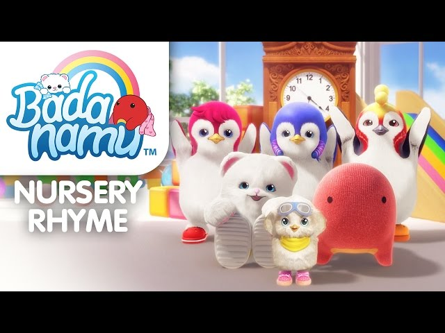 Hickory Dickory Dock l Nursery Rhymes & Kids Songs