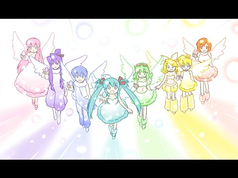 【ボカロ8人(8 Vocaloids)】ゆめのかたち(Yumeno katachi)【ふわりP(FuwariP)】