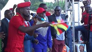 BOBI WINE Words Which Will Be Remebered In The History F Uganda