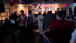 On Broadway-The Drifters cover at Musicians jam -Localguy8