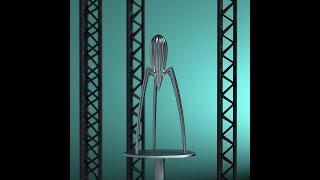 Alessi Juicy Salif citruspers PSJS door Philippe Starck