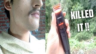 Philips Pro Skin Advanced Trimmer QT4011/15 trimmer - Unboxing & Brief Review | CreatorShed