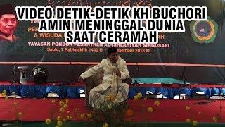 Video Detik-detik KH Buchori Amin Meninggal Dunia saat Memberikan Ceramah di Malang