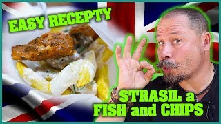 FISH and CHIPS - English FAST FOOD | RÝCHLE RECEPTY