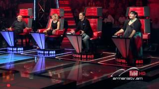 Albert Ghazaryan,Un Amore Cosi Grande - The Voice Of Armenia - Blind Auditions - Season 2