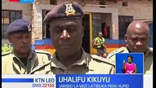 Washukiwa wawili wa wizi wamekamatwa katika eneo la Kikuyu