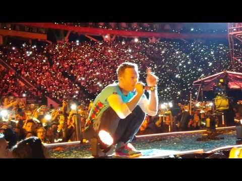 Coldplay en Buenos Aires - Fix You desde el Campo @Estadio Único De La Plata