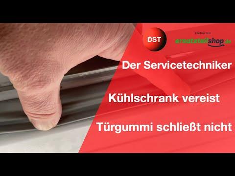 Kühlschrank vereist/Türgummi am Kühlschrank schließt nicht richtig Der Servicetechniker