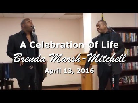 Celebration Of Life for Brenda Marsh-Mitchell