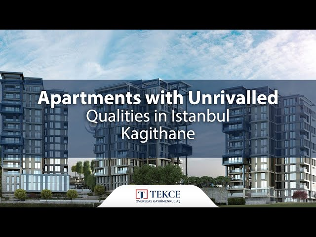 Forest View Apartments Designed with Family Concept in Istanbul