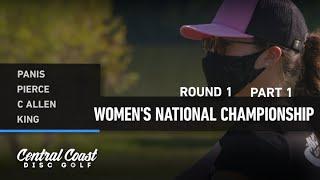 2020 WNC - Round 1 Part 1 - Panis, Pierce, Allen, King