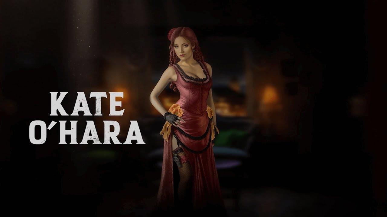 Трейлер обворожительной героини Кейт О'Хара из игры Desperados 3