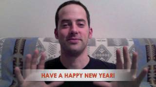 Video 100!!! Happy New Year, Everyone! - And a BIG THANK YOU from EnglishAnyone.com!