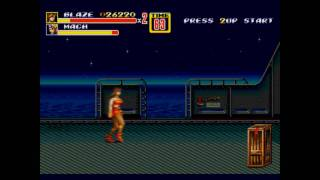 Streets of Rage 2 Music - Slow Moon (Remastered)