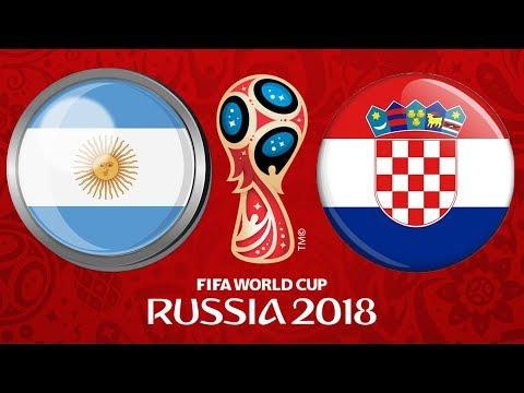 2018 FIFA World Cup Russia | ARGENTINA - CHORVATSKO | FIFA 18 | CZ/SK