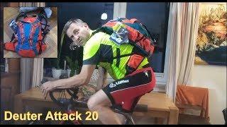 Bike Rucksack Deuter Attack 20 teuer aber bequem