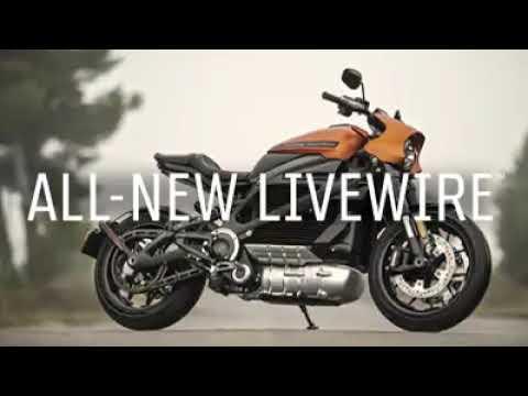 Первый в мире электромотоцикл со своим звуком — Harley-Davidson