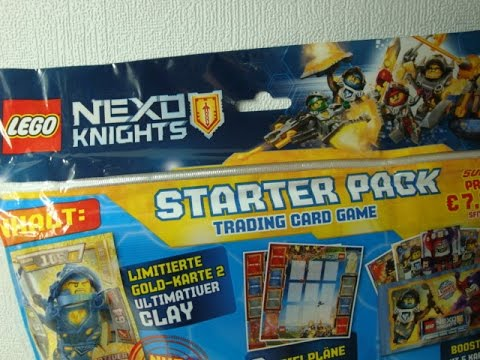 LEGO NEXO KNIGHTS Starter Pack Unboxing