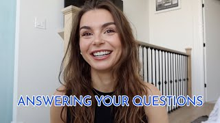 GRWM Q&A | moving in together, accutane, house update + more