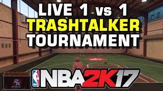 LIVE 1 vs 1 NBA 2K17 TOURNAMENT