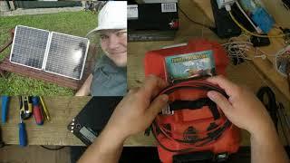 Campingsolarbox2021+ 150 Watt Solarkoffer Teil1. Erweiterung der Box 2x 30ah lifepo4 Batterie
