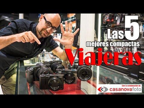 Las 5 mejores cámaras compactas para viajar