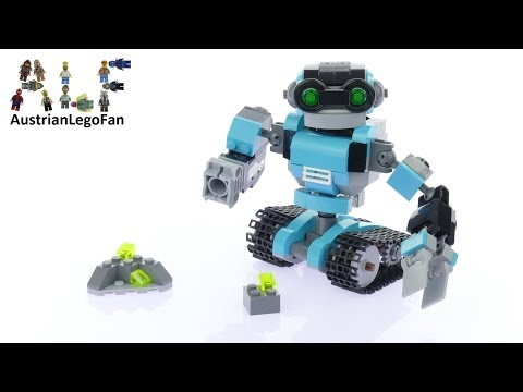 Vidéo LEGO Creator 31062 : Le robot explorateur