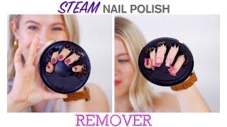 STEAM Nail Polish REMOVER 😲   Milabu