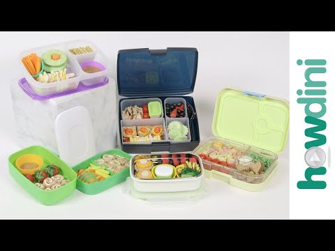 Video Healthy Lunch Ideas For Kids: How to pack a bento box