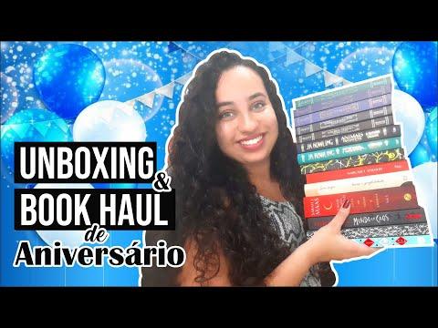 UNBOXING & BOOK HAUL de Aniversário! Meus presentes chegaram! |Karina Nascimento |Paraíso dos Livros