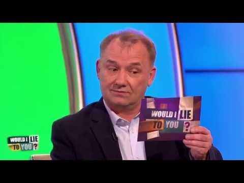 Bob Mortimer byl z města vyhozen policií - Would I Lie to You?