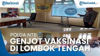 Jelang World Superbike, Polda NTB Genjot Vaksinasi di Lombok Tengah: Target Tuntas pada 5 Oktober