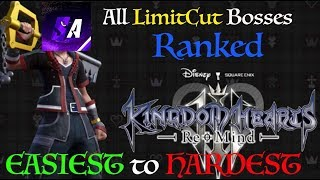 All Kingdom Hearts 3 LimitCut Bosses Ranked Easiest to Hardest