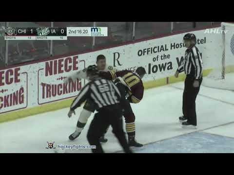 Cody McLeod vs. Tanner Jeannot