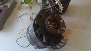 Alternator To Motor In 5 Minutes(Alternateur En Moteur En 5 Minutes)