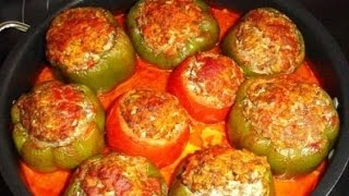 Фаршированные перцы. Секрет приготовления. How to cook stuffed peppers