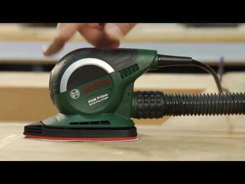 Tutorial: Multischleifer PSM Primo von Bosch