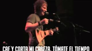 Ed Sheeran - You need to cut your hair (Subtitulos en español)