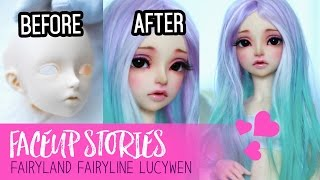 Repainting Dolls - Fairyland Lucywen - Faceup Stories ep.51 - Video Youtube